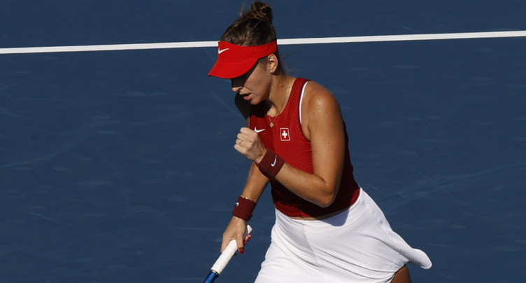 Belinda Bencic en demi-finales du simple
