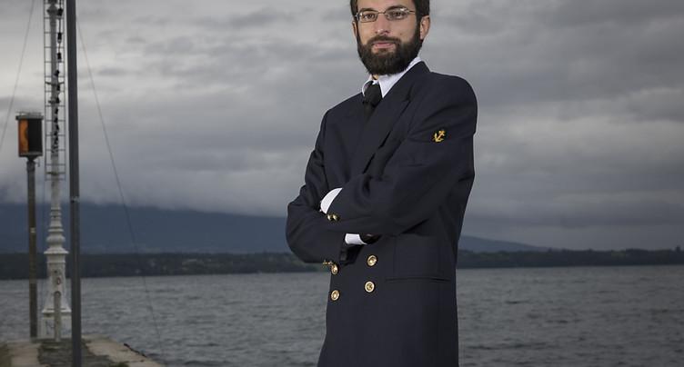 Dimitri Bourqui, un gars des cimes dans la marine