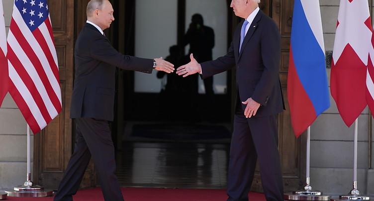 Rencontre discrète entre Washington et Moscou à Genève