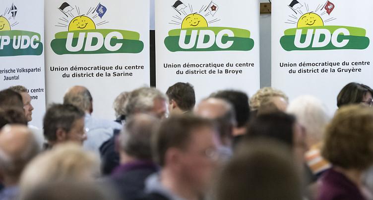Fribourg: pas de candidat UDC à la succession de Christian Levrat