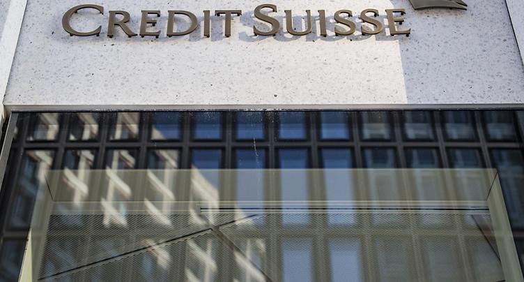 Credit Suisse voit son bénéfice fondre au 2e trimestre