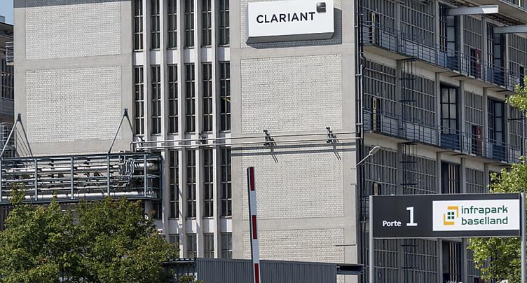 Clariant confirme au deuxième trimestre sa performance au premier