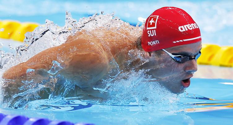 Ponti passe en demi-finales du 100 m papillon