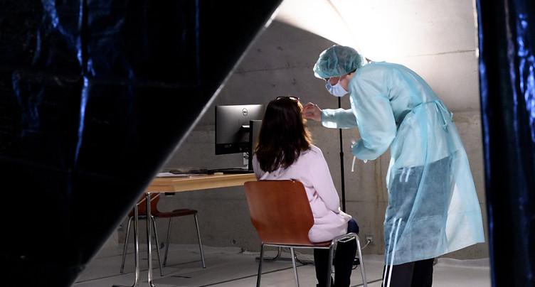 La Suisse compte 827 nouveaux cas de coronavirus en 24 heures