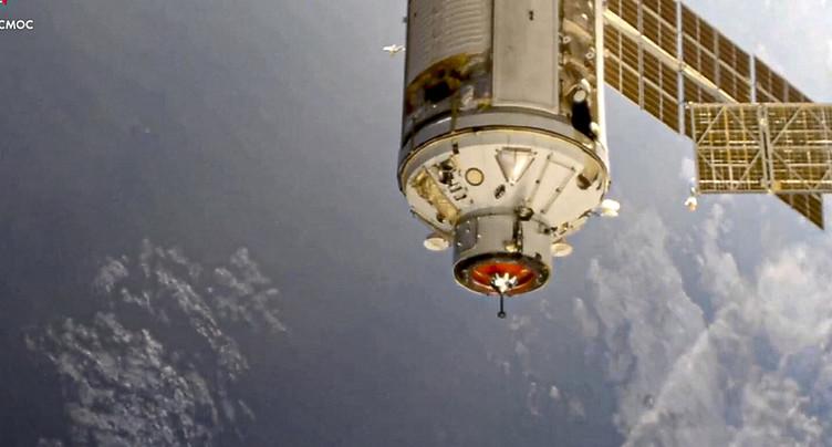 Le module scientifique russe Nauka s'est amarré à l'ISS