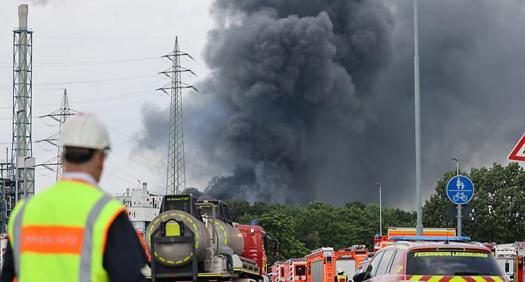 Explosion d'une usine à Leverkusen: le bilan passe à cinq morts