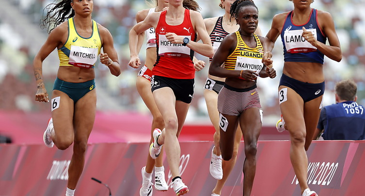 Hoffmann qualifiée sur 800 m, Gasch éliminé