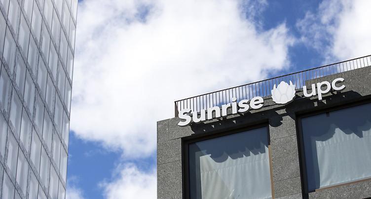 Croissance pour Sunrise UPC au 2e trimestre, rentabilité écornée