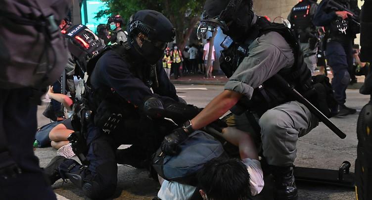 Le premier Hongkongais condamné sous la loi « sécurité nationale »