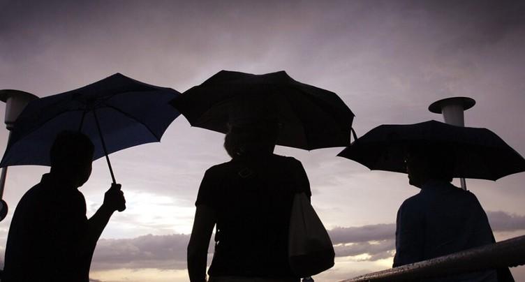 La Confédération alerte sur de nouveaux orages