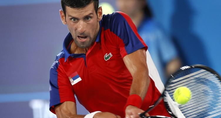 Pas de Grand Chelem doré pour Novak Djokovic
