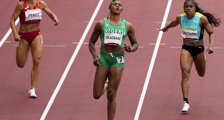 Blessing Okagbare suspendue pour dopage