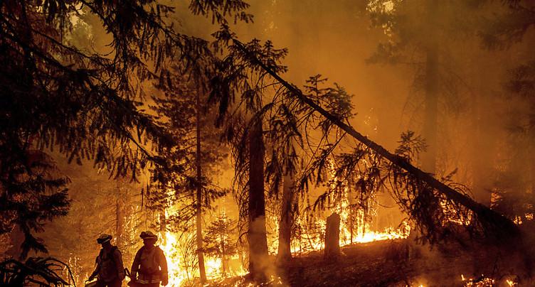 L'Ouest en feu: il faut combattre la crise climatique, dit Biden