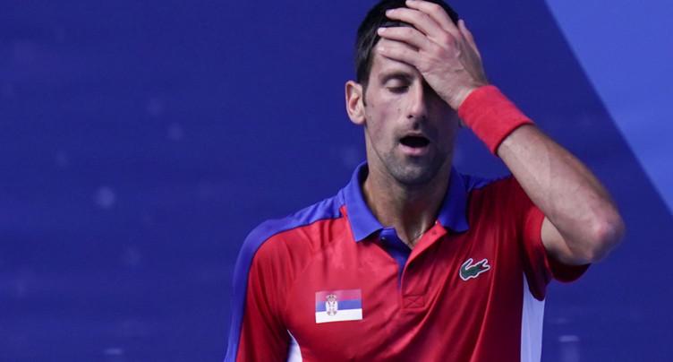 Une nouvelle désillusion pour Novak Djokovic