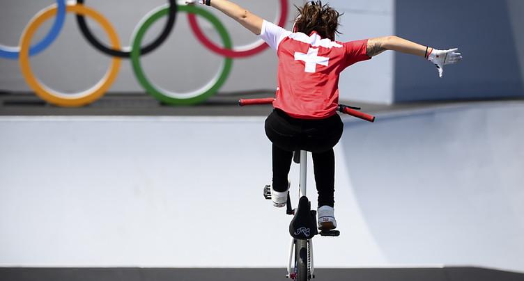 BMX freestyle: Nikita Ducarroz assure une 12e médaille à la Suisse