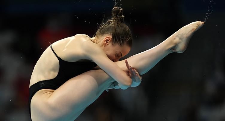 Michelle Heimberg 11e de la finale aux 3m