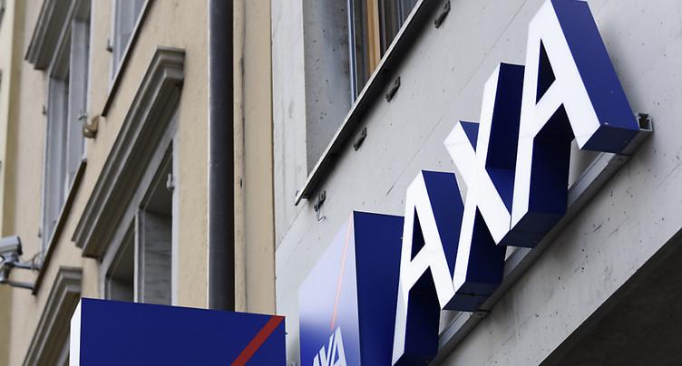 Rebond du bénéfice pour AXA Suisse malgré les intempéries