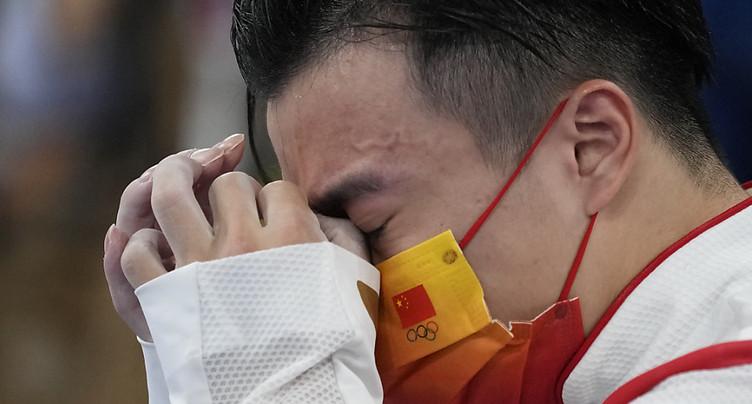 Liu Yang champion olympique aux anneaux