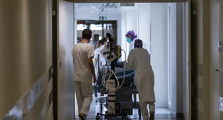 La Suisse compte 2019 nouveaux cas de coronavirus en 72 heures