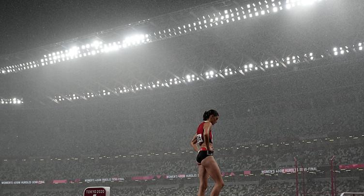 Lea Sprunger sortie en demi-finale et noyée par l'émotion