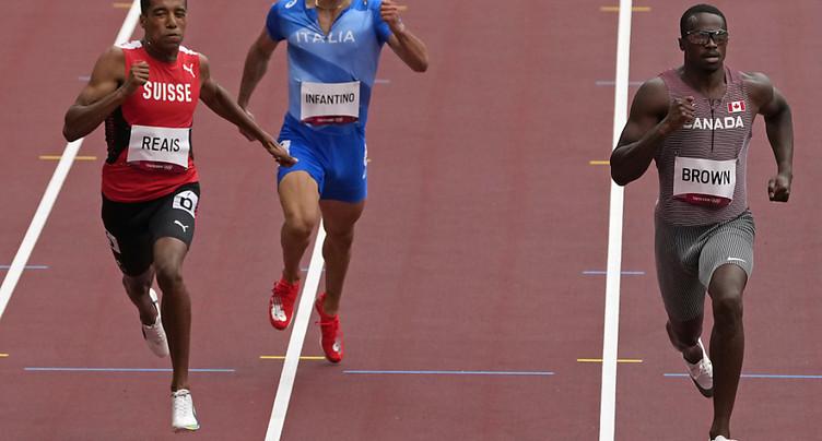 Reais qualifié pour les demi-finales sur 200 m
