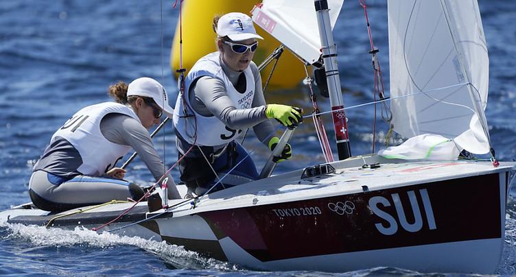 470 dames: Fahrni/Siegenthaler qualifiées pour la Medal Race