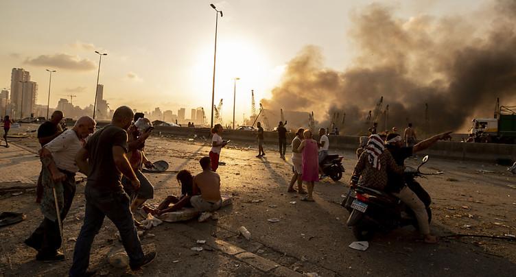 Explosion de Beyrouth: HRW accuse les autorités de « négligence criminelle »