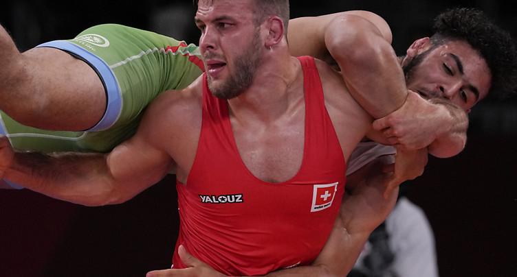 Moins de 86 kg: Reichmuth en quarts de finale