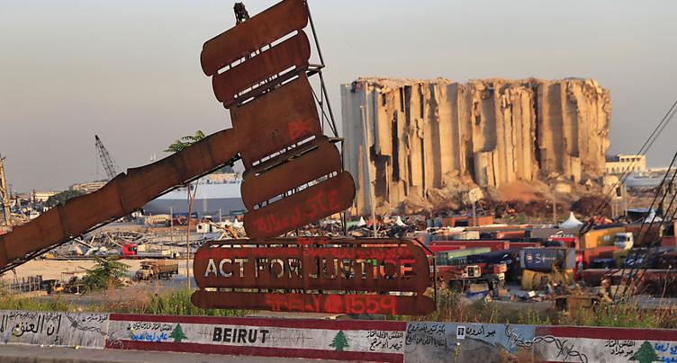 Colère et deuil à Beyrouth pour le 1er anniversaire de l'explosion