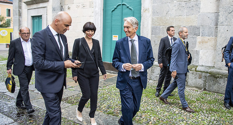 Alain Berset lance la 74e édition du festival du film de Locarno