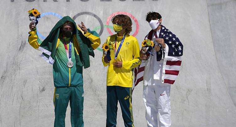 Un Australien premier champion olympique de park