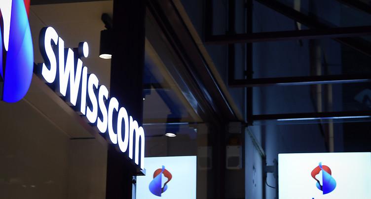 Swisscom a poursuivi sa solide croissance au 1er semestre