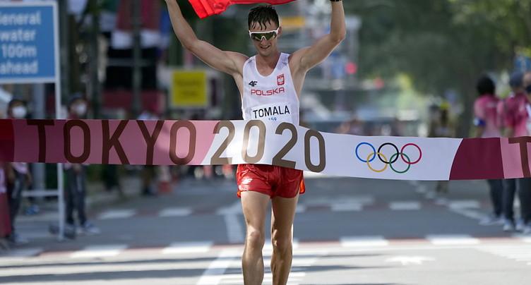Dawid Tomala dernier champion olympique du 50 km marche