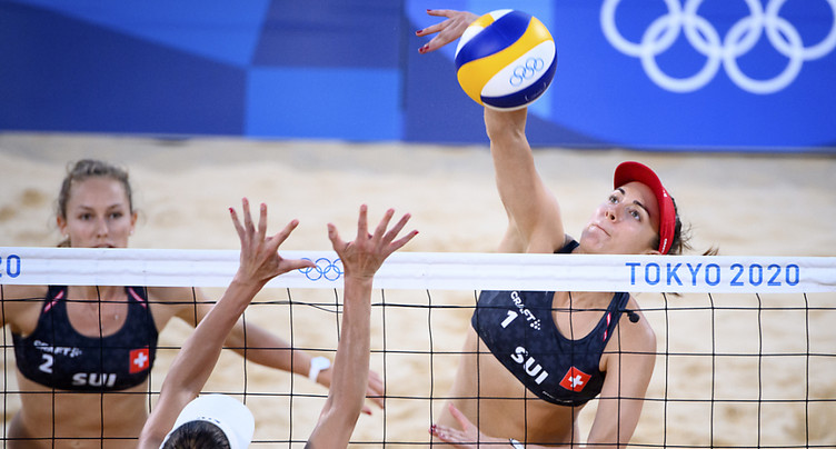 Nina Betschart et Tanja Hüberli en finale