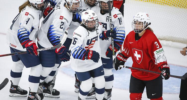Logique défaite des Suissesses face aux Etats-Unis