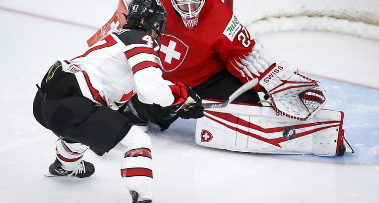 La Suisse battue 5-0 oar le Canada