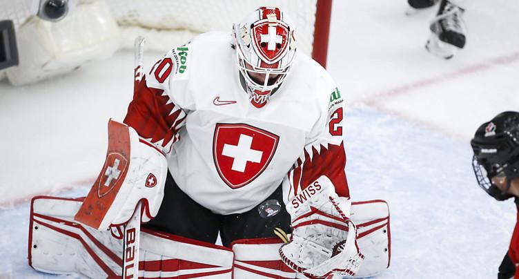 La Suisse battue 4-0 par le Canada en demi-finale