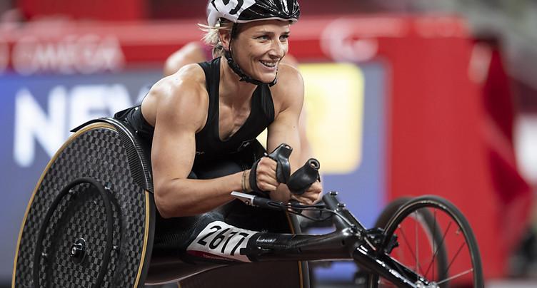 Troisième médaille pour Manuela Schär