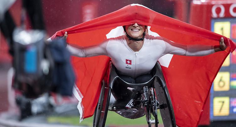 L'or et un deuxième titre pour Manuela Schär sur 400 m