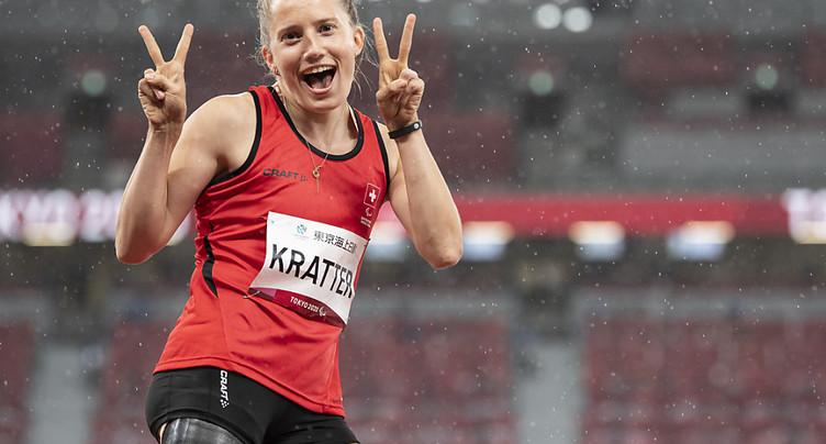 Elena Kratter médaillée de bronze à la longueur