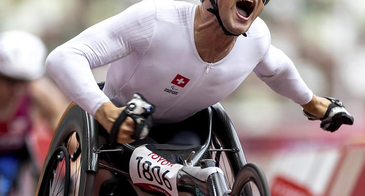 Troisième médaille d'or pour Marcel Hug