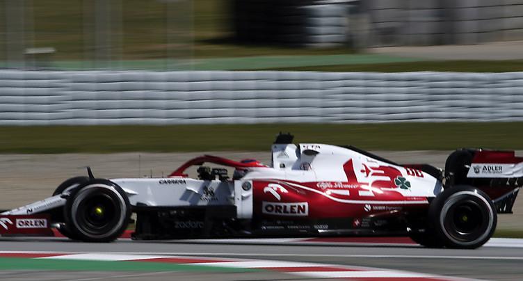 Alfa Romeo: Räikkönen, positif au Covid-19, remplacé par Kubica