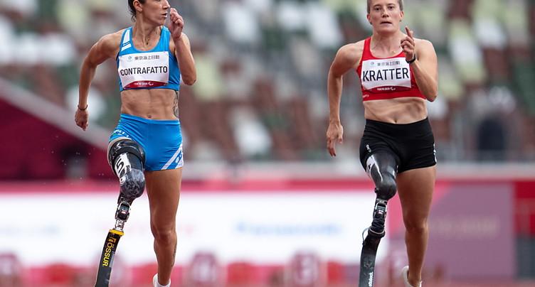 Elena Kratter 5e sur 100 m, Sofia Gonzalez 7e