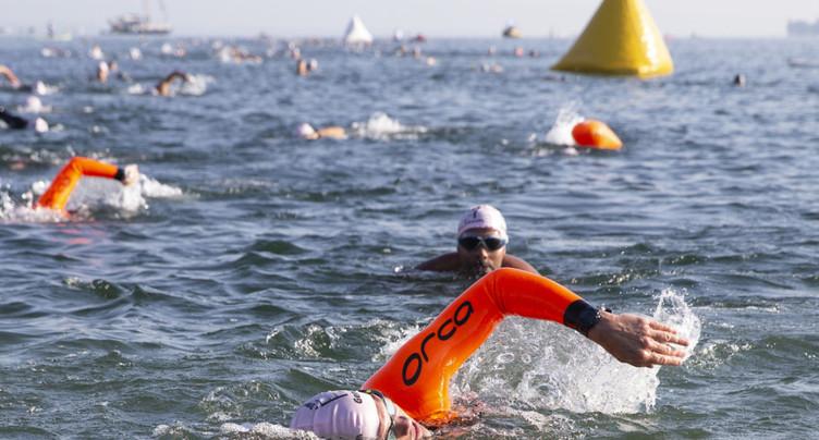 Genève: 960 participants à la 5e Traversée de la rade à la nage