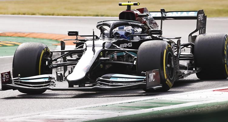 Bottas partira en tête de la course sprint qualificative