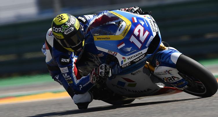 Thomas Lüthi chute en Moto2, victoire de Raul Fernandez