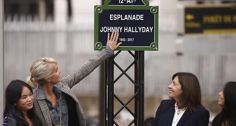 Journée d'hommage au chanteur Johnny Hallyday