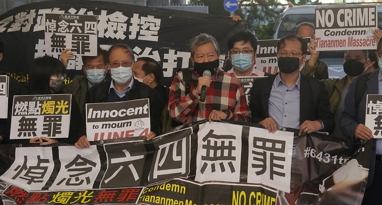 Hong Kong: prison pour 9 militants ayant participé à des veillées pour Tiananmen