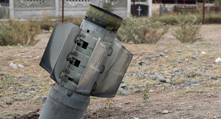 Davantage de victimes de sous-munitions l'année dernière