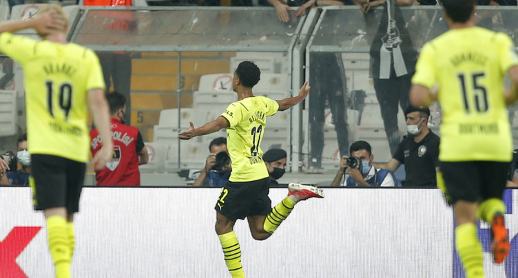 Ligue des champions: Borussia Dortmund gagne à Istanbul